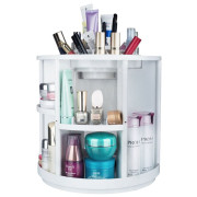 Monoko® 360º Rotating Makeup Organizer XL, Wit