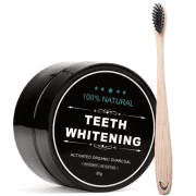 Teeth Whitening 100% Natural Tandenbleker + Bamboe tandenborstel