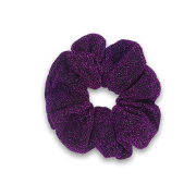 Glitter Scrunchie - Purple