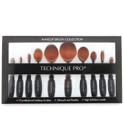 Technique PRO® 10 Stuks Ovaal Make-up Borstel Set