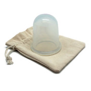 UNIQ® Cupping Massage Suction XL, Anti Cellulite - Transparant