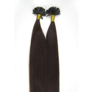 Hot Fusion hair extensions - 50 cm - #2 Donkerbruin