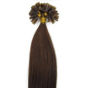 Hot Fusion hair extensions - 50 cm - #6 Bruin