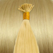 Cold Fusion hair extensions - 60 cm - #613 Blond