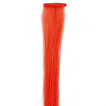 Crazy Color Clip-On extensions - 50 cm - Rood