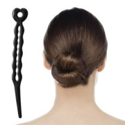 Magic Hair Bun - Zwart